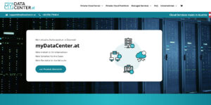 Screenshot myDataCenter.at